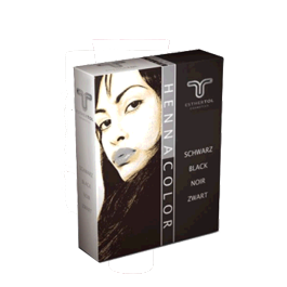HennaColor Pulver Schwarz 85 g