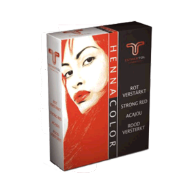 HennaColor Pulver Rot verstärkt 85 g