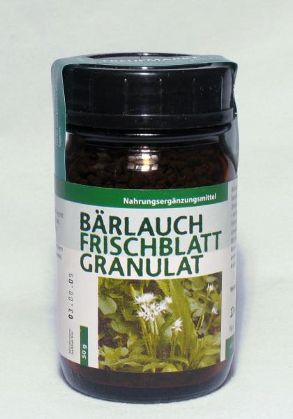 Bärlauch Frischblatt Granulat 50g