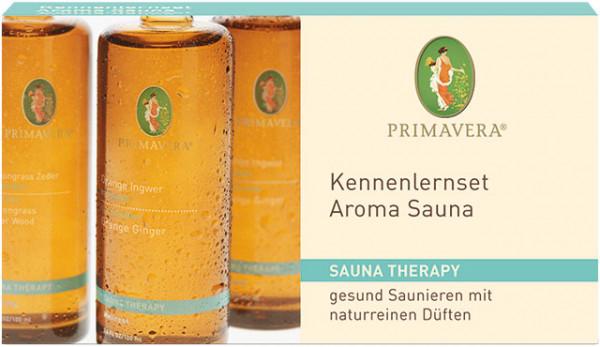 Kennenlernset Aroma Sauna* bio 3x10ml