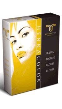 HennaColor Pulver Blond 85g