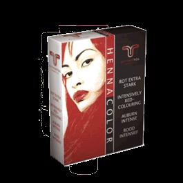 HennaColor Pulver Rot extra stark 85 g